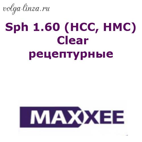 Maxxee Sph 1.60 (HCC, HMC) clear рецептурные
