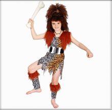 Детский карнавальный костюм дикаря для девочки