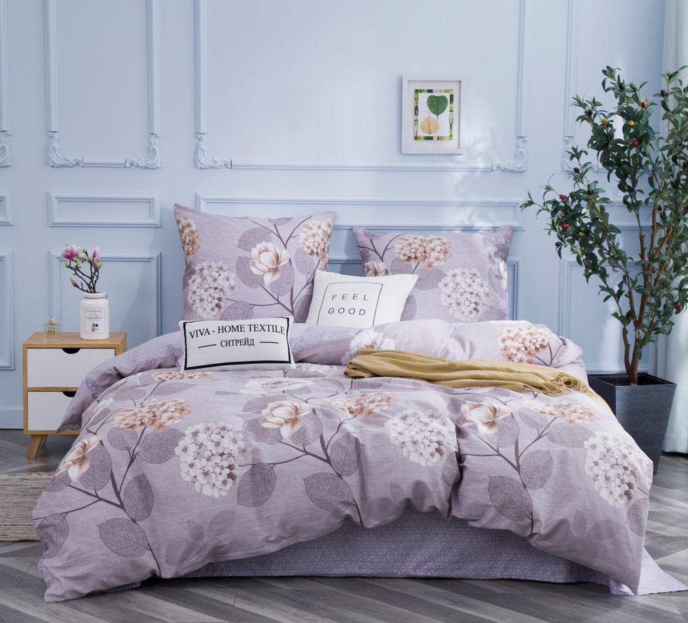 Комплект постельного белья 2 спальный Сатин C346