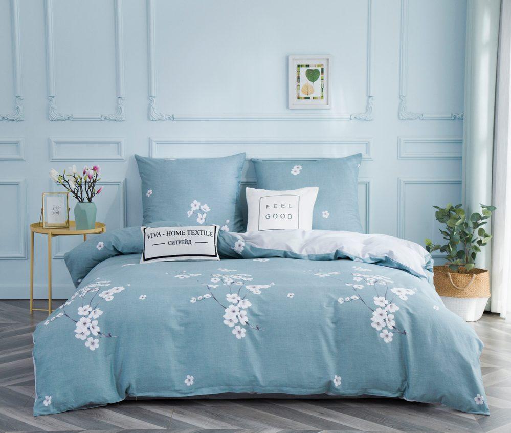 Комплект постельного белья 2 спальный Сатин C347