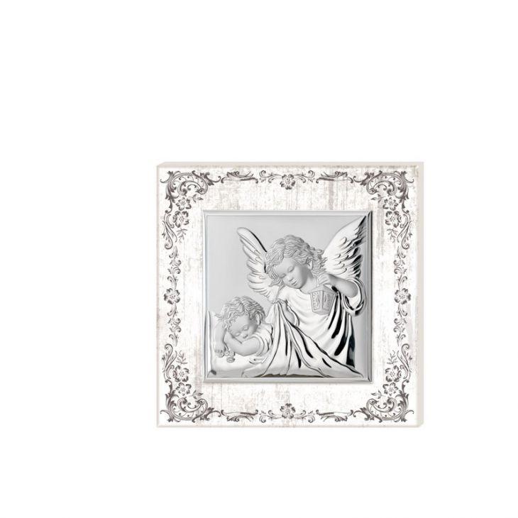 """Миниатюра """"Ангел Хранитель"""" (Италия, 12х12 см.)"""