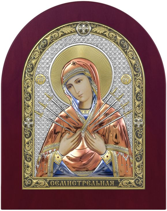 Семистрельная Икона Божией Матери (Италия)