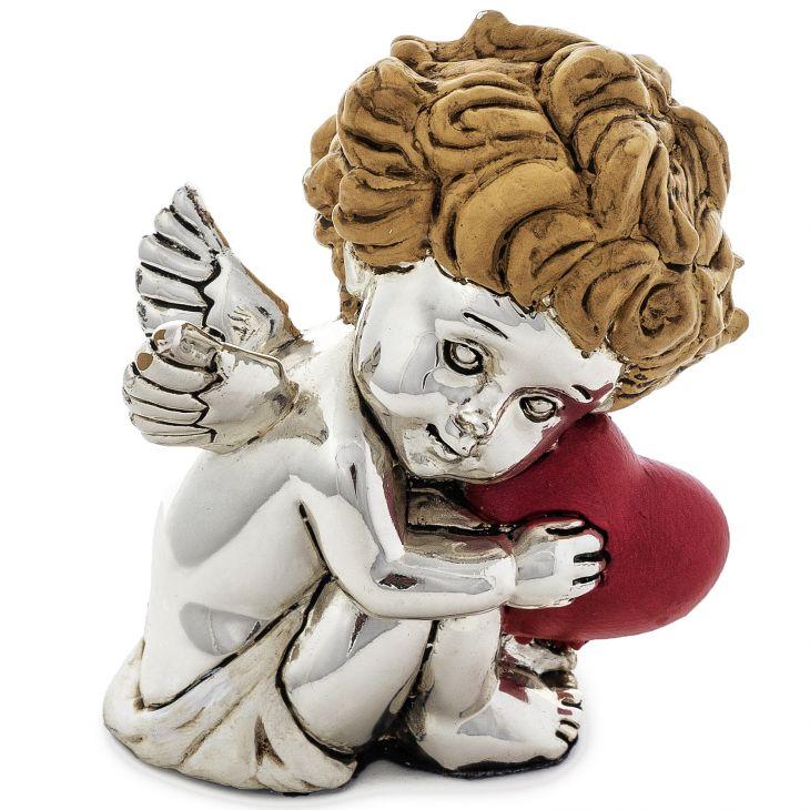 """Статуэтка """"Златокудрый ангел"""" (Италия, 10 см.)"""