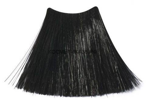 Краситель стойкий  для волос без аммиака 1.0  Чёрный 100 мл. VELVET COLOUR