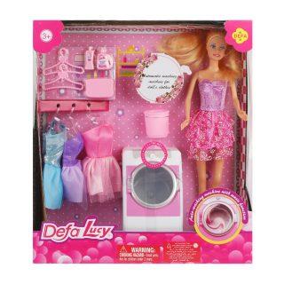 Кукла Lucy Хозяюшка, в компл. 10 аксесс., свет, звук, бат.в компл.не вх., кор.