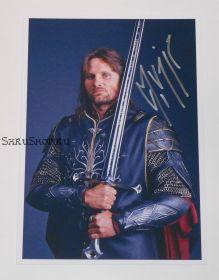 Автограф: Вигго Мортенсен. Властелин колец: Возвращение Короля