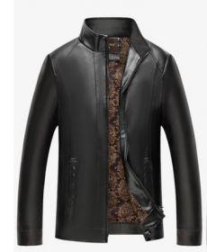 "Осенняя мужская кожаная куртка ""Торонто"""
