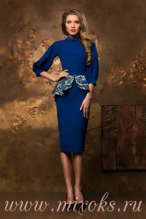 Платье из народного платка