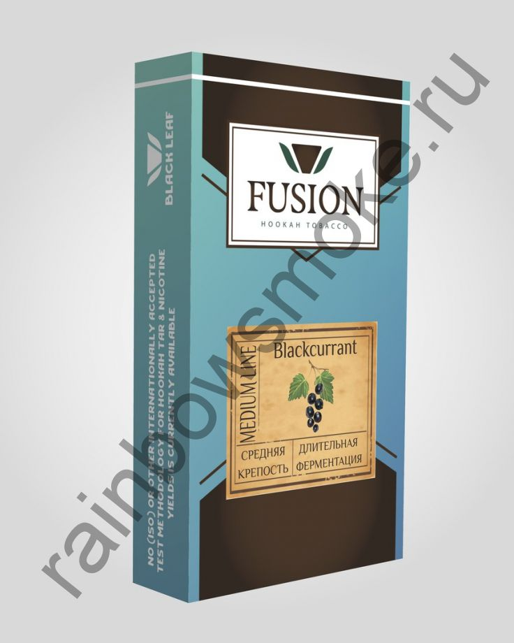 Fusion Medium 100 гр - Blackcurrant (Чёрная смородина)
