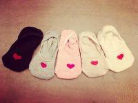 Короткие женские носки из хлопка, купить в Москве для йоги и дома
