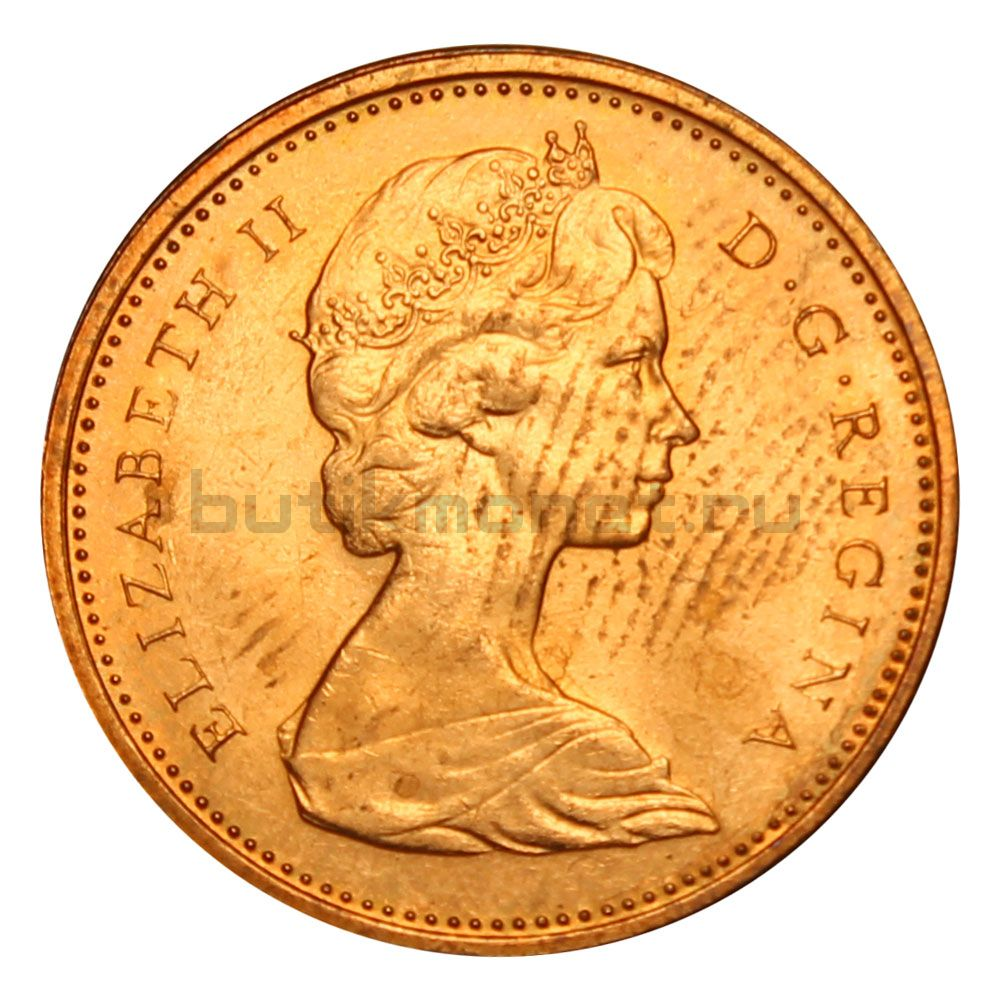 1 цент 1973 Канада
