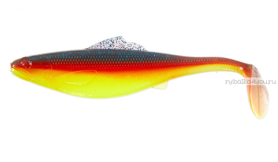 "Виброхвосты Lucky John Roach Paddle Tail 3,5"" 8,9 см / упаковка 6 шт / цвет: G07"