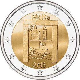 Культурное наследие 2 евро Мальта 2018