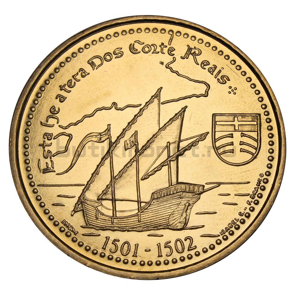 200 эскудо 2000 Португалия Земля Кортириал