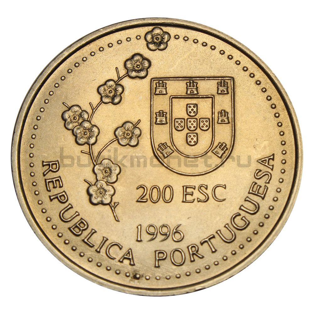 200 эскудо 1996 Португалия Путешествие на Тайвань в 1582 году