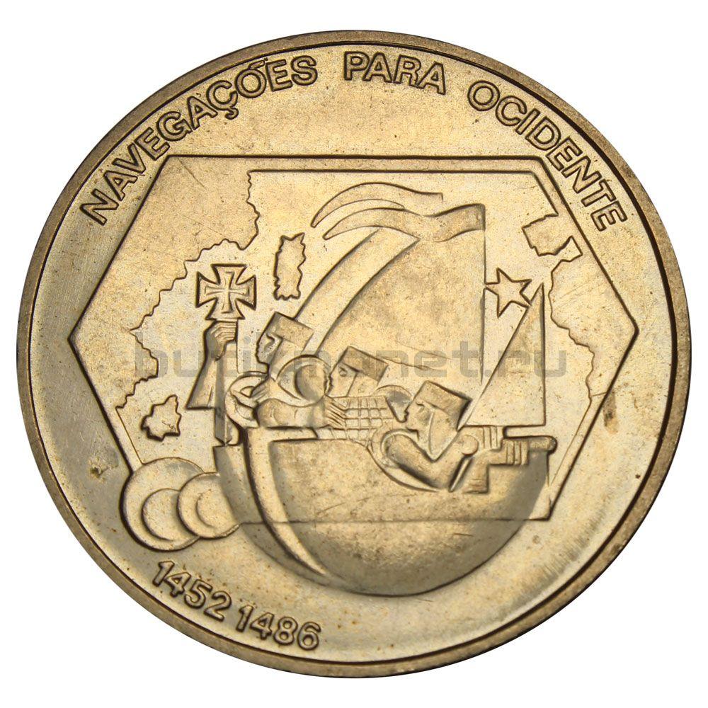 200 эскудо 1991 Португалия Навигация на запад