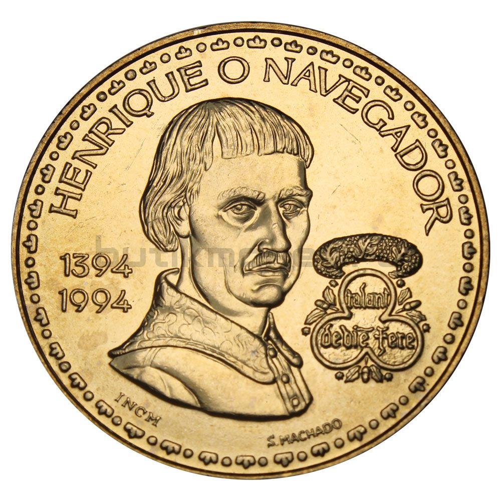 200 эскудо 1994 Португалия 600 лет со дня рождения Генриха Мореплавателя