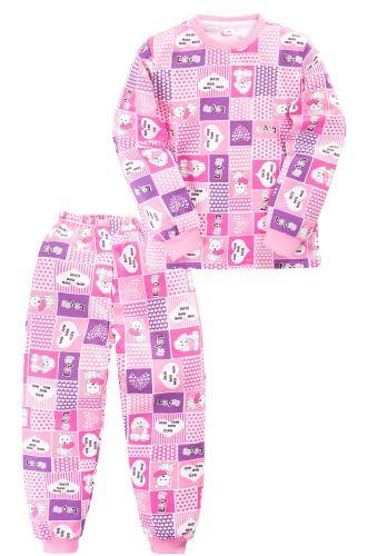 Пижама c начесом для девочки 2-5 лет Sladikmladik SM1095