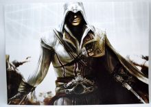 Плакат А3 по игре Кредо Ассасина арт 1 / Assasin's Creed poster
