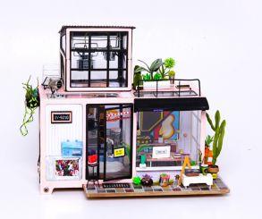 Набор для создания интерьера в миниатюре(Румбокс) «Городская студия» 250*160*200.