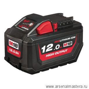 Аккумулятор M18 HB12 HIGH OUTPUT 12 АЧ MILWAUKEE 4932464260