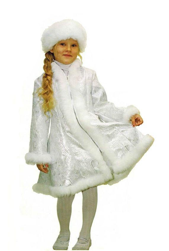 Детский костюм милой Снегурочки