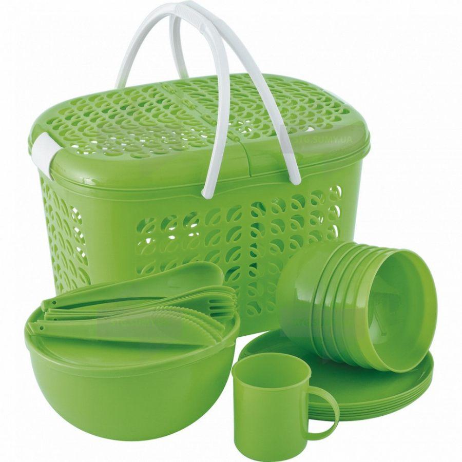 Набор посуды для пикника Palisad Camping 69517