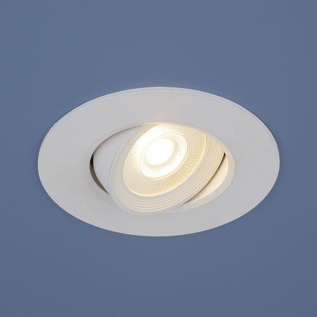 9914 LED / Светильник встраиваемый 6W WH белый