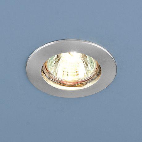 863 MR16 SCH / Светильник встраиваемый хром сатинированный