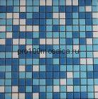 ML42013S на сетке. Мозаика серия для бассейна,  размер, мм: 327*327*4 (IMAGINE.LAB)