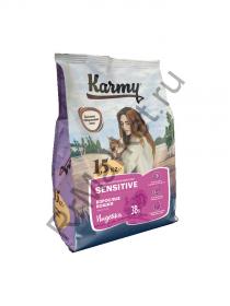 Karmy Sensitive для кошек - индейка
