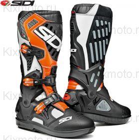 Ботинки Sidi Atojo SRS, Черно-бело-оранжевые