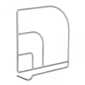Разделитель для мебельной полки, цвет хром   4074893