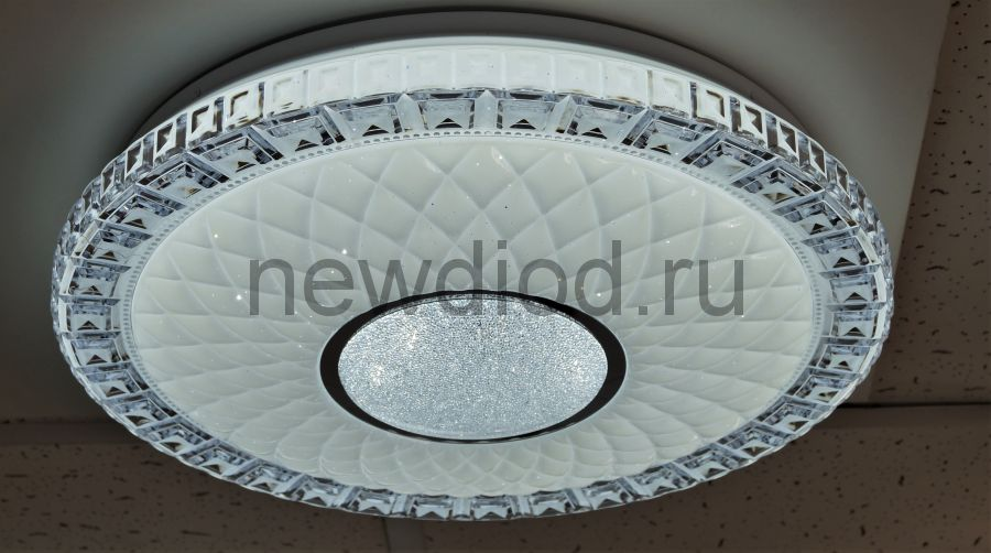 Управляемый светодиодный светильник AKRILIKA 682 72Вт-5700Лм 500мм пульт 6/3/4000K Oreol