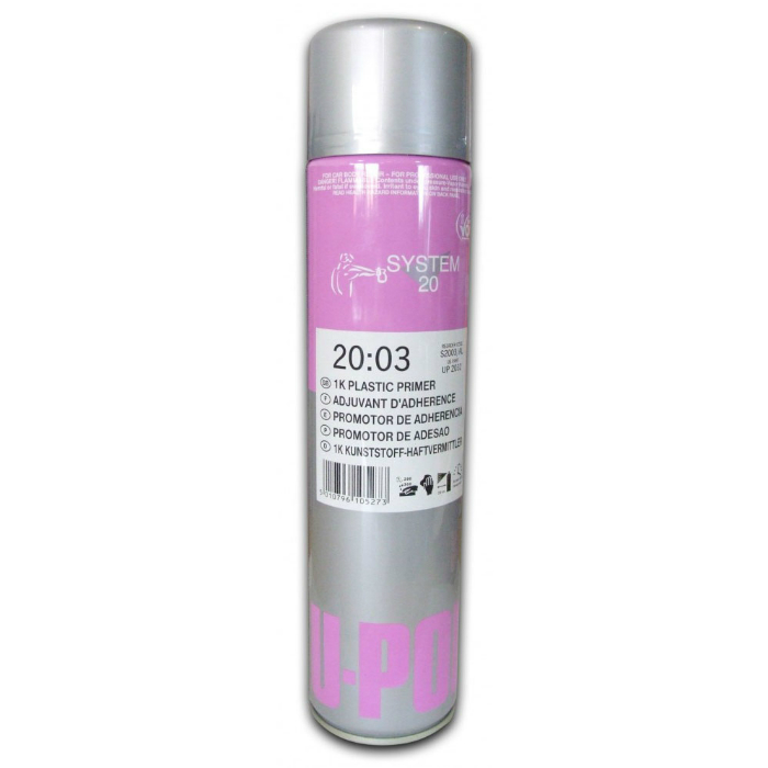 U-Pol S2003 1K Грунт адгезионный для пластика, 600мл.