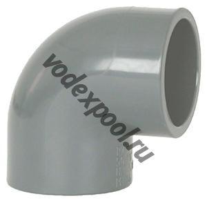 Угольник 90 градусов Coraplax (д. 63 мм)