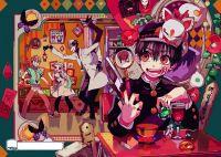 Плакат Jibaku Shounen Hanako-kun