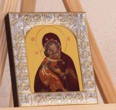 Владимирская икона БМ (9х10,5см)