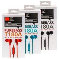 Вакуумные наушники PureBass T180A