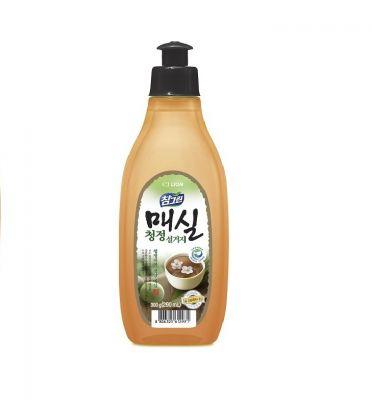 CJ Lion Chamgreen Средство для мытья посуды, овощей и фруктов Японский абрикос 290 мл