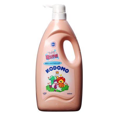 LION Kodomo Пена для ванн детская 1000 мл. Природная мягкость (2в1) дозатор