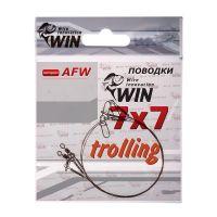 Поводок Win 7х7 (AFW) Trolling 18 кг 100 см фото1