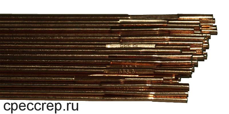 Присадочный пруток Св-08Г2С-О Ø=2,0 L 1000, 10кг