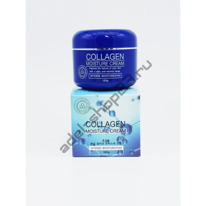 Yg - Collagen Moisture Cream - Увлажняющий крем для упругости кожи с морским коллагеном 100гр