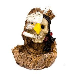 Сигаретная Пепельница скелет - Орел