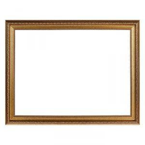 Рама для зеркал и картин, пластиковая, 30 х 40, ширина 2,3 см, Dorothy, золотая