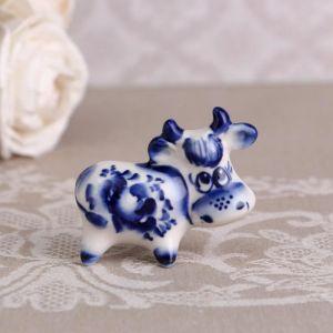 "Сувенир ""Мультик"",синий, 5,5 см, гжель 4883790"