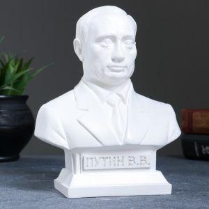 Бюст Путин белый 19 см 1079133