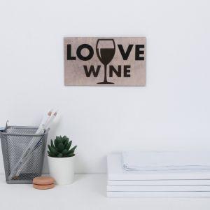 """Интерьерные буквы """"Love wine"""" 17,8 х 10,6 см 4377958"""