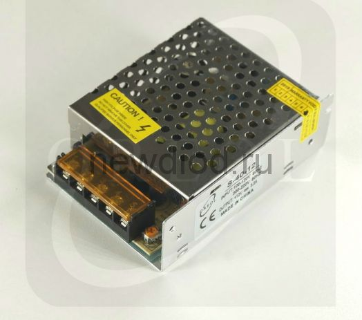 Блок питания 40W.12V.3.2A.IP20 (Металлический корпус) OREOL